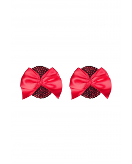 "Nipple Covers ""Giftella"" rot von Obsessive"