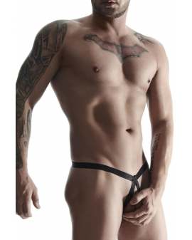 2er Pack Harness String schwarz von Regnes Fetish Planet - BRI010