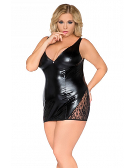 Sexy Base Kollektion: Wetlook-Chemise von Andalea SB/1002