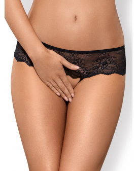 "Panties ouvert ""Merossa"" schwarz von Obsessive"