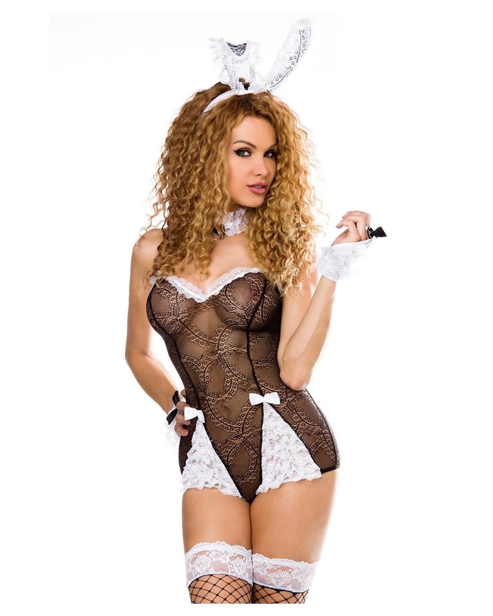 sexy Bunny-Kostüm von Saresia roleplay