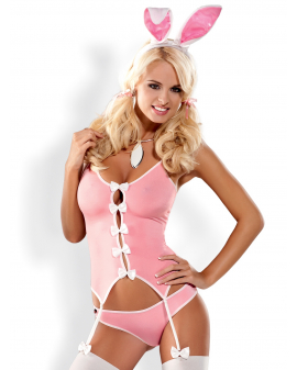 """Kostüm """"Bunny Suit"""" rosa von Obsessive"""