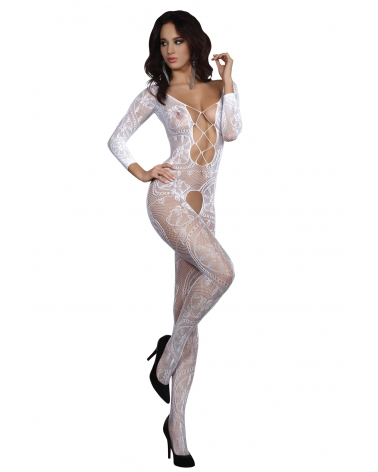 Bodystocking Zita White LC 17199