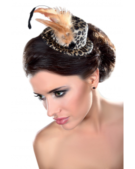 Fascinator Mini Top Hat LC12033 Model 28 LivCo Corsetti