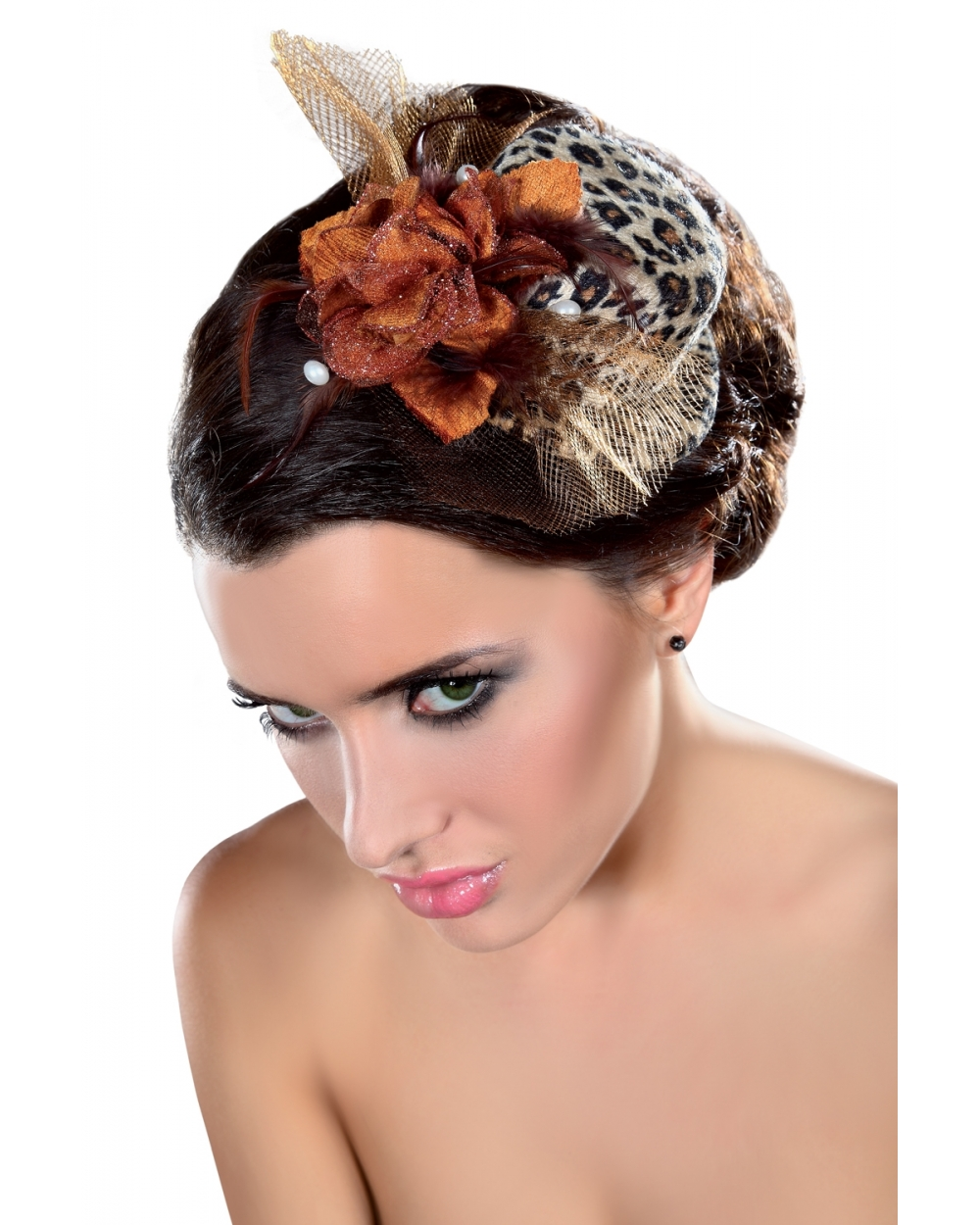 Fascinator Mini Top Hat LC12030 Model 25 LivCo Corsetti