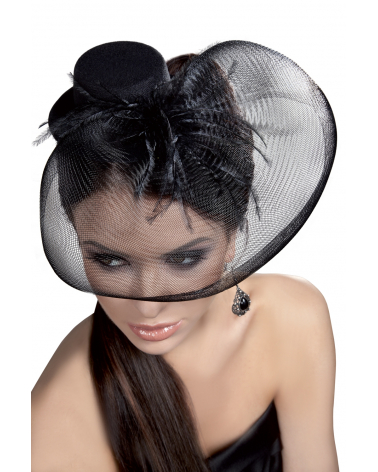 Fascinator Mini Top Hat LC12029 Model 24 LivCo Corsetti