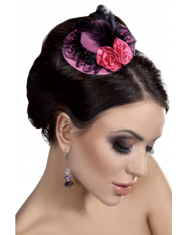 Fascinator Mini Top Hat LC12027 Model 9 LivCo Corsetti