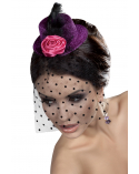 Fascinator Mini Top Hat LC12026 Model 10 LivCo Corsetti