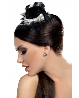 Fascinator Mini Top Hat LC12023 Model 16 LivCo Corsetti