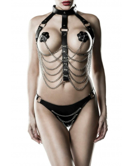3-teiliges Kettenharness-Set von Grey Velvet