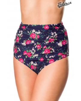 Vintage Highwaist Bikini-Höschen ⛱ Blumenmuster von Belsira