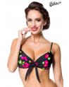 Vintage Bikini-Oberteil ⛱ Kirschen Motiv von Belsira